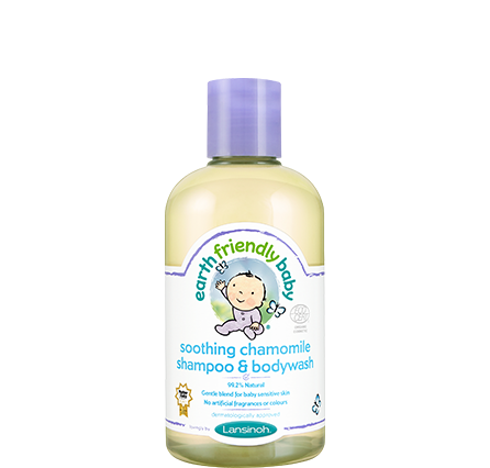Earth Friendly Baby: Soothing Chamomile Shampoo and Bodywash